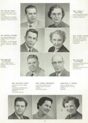 Page 16, 1955 Edition, Leechburg High School - Minetas Yearbook (Leechburg, PA) online yearbook collection