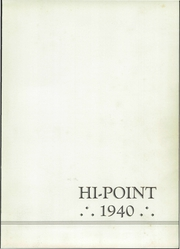 Page 5, 1940 Edition, Meyersdale Joint High School - Hi Point Yearbook (Meyersdale, PA) online yearbook collection