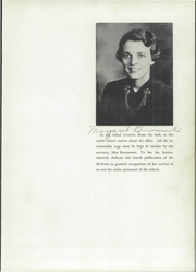 Page 7, 1940 Edition, Meyersdale Joint High School - Hi Point Yearbook (Meyersdale, PA) online yearbook collection