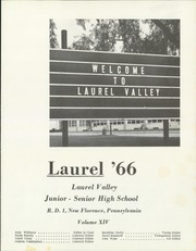 Page 5, 1966 Edition, Laurel Valley High School - Laurel Yearbook (New Florence, PA) online yearbook collection