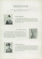 Page 9, 1946 Edition, Middleburg High School - Monitor Yearbook (Middleburg, PA) online yearbook collection