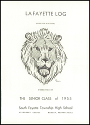 Page 5, 1955 Edition, South Fayette High School - Alliance Yearbook (McDonald, PA) online yearbook collection