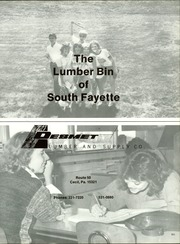 Page 155, 1986 Edition, South Fayette High School - Alliance Yearbook (McDonald, PA) online yearbook collection