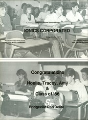 Page 158, 1986 Edition, South Fayette High School - Alliance Yearbook (McDonald, PA) online yearbook collection
