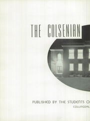 Page 6, 1938 Edition, Collingdale High School - Colsenian Yearbook (Collingdale, PA) online yearbook collection