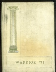 1971 Edition, West Branch Area High School - Warrior Yearbook (Morrisdale, PA)