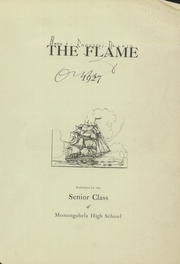 Page 3, 1927 Edition, Monongahela High School - Flame Yearbook (Monongahela, PA) online yearbook collection