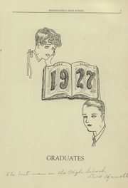 Page 9, 1927 Edition, Monongahela High School - Flame Yearbook (Monongahela, PA) online yearbook collection