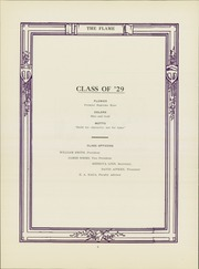 Page 10, 1929 Edition, Monongahela High School - Flame Yearbook (Monongahela, PA) online yearbook collection