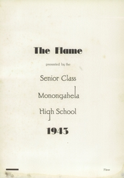 Page 7, 1943 Edition, Monongahela High School - Flame Yearbook (Monongahela, PA) online yearbook collection