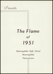 Page 7, 1951 Edition, Monongahela High School - Flame Yearbook (Monongahela, PA) online yearbook collection