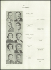 Page 12, 1952 Edition, Monongahela High School - Flame Yearbook (Monongahela, PA) online yearbook collection