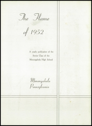 Page 7, 1952 Edition, Monongahela High School - Flame Yearbook (Monongahela, PA) online yearbook collection