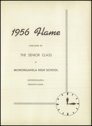 Page 7, 1956 Edition, Monongahela High School - Flame Yearbook (Monongahela, PA) online yearbook collection
