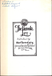 Page 5, 1927 Edition, German Township High School - Laureola Yearbook (McClellandtown, PA) online yearbook collection