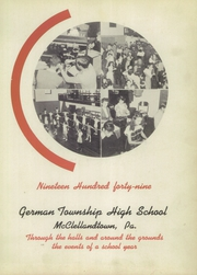 Page 7, 1949 Edition, German Township High School - Laureola Yearbook (McClellandtown, PA) online yearbook collection