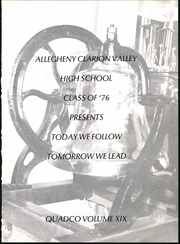Page 5, 1976 Edition, Allegheny Clarion Valley High School - Quadco Yearbook (Foxburg, PA) online yearbook collection