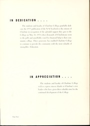 Page 8, 1955 Edition, University of North Carolina Charlotte - Rogues n Rascals or SiSi Yearbook (Charlotte, NC) online yearbook collection
