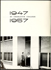 Page 6, 1957 Edition, University of North Carolina Charlotte - Rogues n Rascals or SiSi Yearbook (Charlotte, NC) online yearbook collection