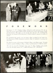 Page 8, 1957 Edition, University of North Carolina Charlotte - Rogues n Rascals or SiSi Yearbook (Charlotte, NC) online yearbook collection