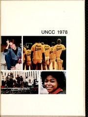 Page 5, 1978 Edition, University of North Carolina Charlotte - Rogues n Rascals or SiSi Yearbook (Charlotte, NC) online yearbook collection
