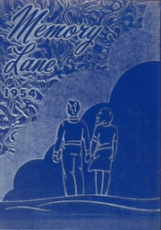 1954 Edition, Union High School - Memory Lane Yearbook (Rimersburg, PA)
