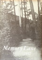 1957 Edition, Union High School - Memory Lane Yearbook (Rimersburg, PA)