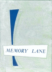1958 Edition, Union High School - Memory Lane Yearbook (Rimersburg, PA)