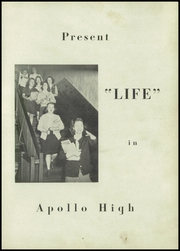 Page 7, 1945 Edition, Apollo High School - Kiskitas Yearbook (Apollo, PA) online yearbook collection