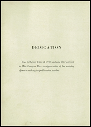 Page 8, 1945 Edition, Apollo High School - Kiskitas Yearbook (Apollo, PA) online yearbook collection