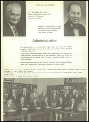 Page 10, 1956 Edition, Apollo High School - Kiskitas Yearbook (Apollo, PA) online yearbook collection