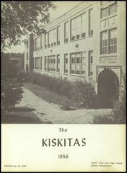 Page 5, 1956 Edition, Apollo High School - Kiskitas Yearbook (Apollo, PA) online yearbook collection