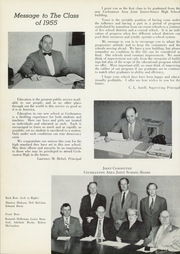 Page 10, 1955 Edition, Cochranton High School - Cardinal Yearbook (Cochranton, PA) online yearbook collection