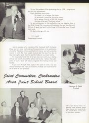 Page 10, 1956 Edition, Cochranton High School - Cardinal Yearbook (Cochranton, PA) online yearbook collection