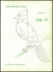 Page 5, 1957 Edition, Cochranton High School - Cardinal Yearbook (Cochranton, PA) online yearbook collection