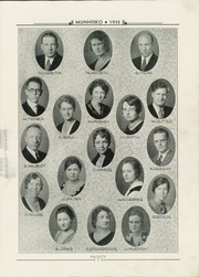 Page 11, 1932 Edition, Munhall High School - Munhisko Yearbook (Munhall, PA) online yearbook collection