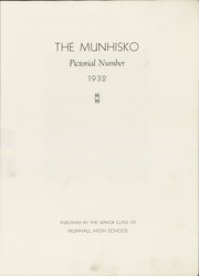 Page 5, 1932 Edition, Munhall High School - Munhisko Yearbook (Munhall, PA) online yearbook collection