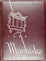 Page 1, 1952 Edition, Munhall High School - Munhisko Yearbook (Munhall, PA) online yearbook collection