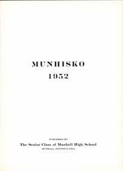 Page 7, 1952 Edition, Munhall High School - Munhisko Yearbook (Munhall, PA) online yearbook collection