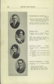 Page 12, 1926 Edition, Greensburg High School - Brown and White Yearbook (Greensburg, PA) online yearbook collection
