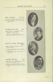 Page 13, 1926 Edition, Greensburg High School - Brown and White Yearbook (Greensburg, PA) online yearbook collection