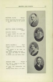 Page 15, 1926 Edition, Greensburg High School - Brown and White Yearbook (Greensburg, PA) online yearbook collection