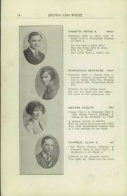 Page 16, 1926 Edition, Greensburg High School - Brown and White Yearbook (Greensburg, PA) online yearbook collection