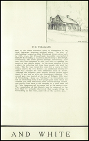 Page 15, 1936 Edition, Greensburg High School - Brown and White Yearbook (Greensburg, PA) online yearbook collection