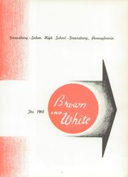 Page 5, 1960 Edition, Greensburg High School - Brown and White Yearbook (Greensburg, PA) online yearbook collection