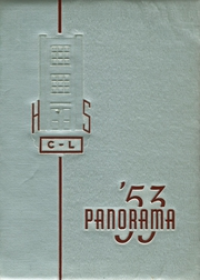 1953 Edition, Clarion Limestone High School - Panorama Yearbook (Strattanville, PA)