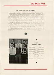 Page 53, 1945 Edition, Elk County Catholic High School - Memories Yearbook (St Marys, PA) online yearbook collection