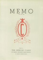 Page 5, 1948 Edition, Elk County Catholic High School - Memories Yearbook (St Marys, PA) online yearbook collection
