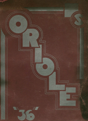 1936 Edition, South High School - Oriole Yearbook (Pittsburgh, PA)