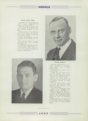 Page 13, 1937 Edition, South High School - Oriole Yearbook (Pittsburgh, PA) online yearbook collection